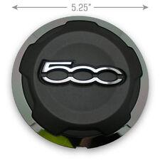 "1 - 12 13 Fiat 500 735574469 15"" 14 Spoke Wheel Center Caps Hubcaps OEM"