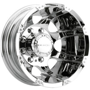 Vision 715 Crazy Eights 16x6 8x170 Chrome Wheel Rim