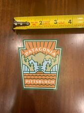 Patagonia Pittsburgh River Bridge Sticker/Decal Vinyl Approx 3�