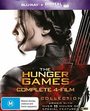 The Hunger Games (Blu-ray, 2016, 8-Disc Set)