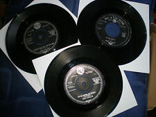 HANK LOCKLIN - BARGAIN JOB LOT OF 3 RCA SINGLES FROM 1960-1963 - ALL EXC TO VG+