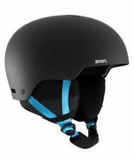 2020 NIB MENS ANON RAIDER 3 SNOW HELMET $80 Black Pop (Passive Ventilation)