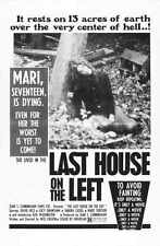 Last House On The Left Poster 01 A2 Box Canvas Print