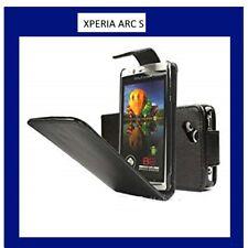 Pour Sony Ericsson Xperia ARC S Housse Etui Coque Pochette Noir