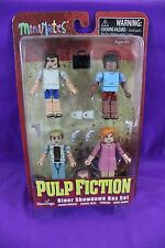 Pulp Fiction Diner Showdown Hastings Exclusive Minimates Box Set NEW SEALED 2014