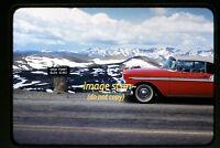 1950's Colorado, 1956 Chevy Car, Original Slide c24a