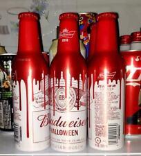New China 2019 Budweiser Beer Hallowmas Empty Aluminum bottle