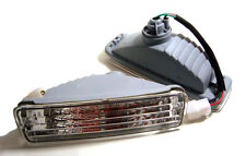 Bumper Turn Signal Light Clear for Toyota Hilux Mighty-X RN85 LN85 RN90 LN106