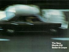 Mazda 616 1975-76 UK Market Foldout Sales Brochure Saloon Coupe