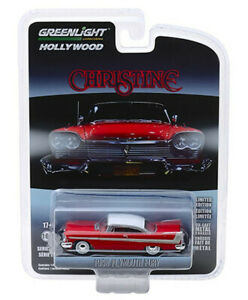 GREENLIGHT 44830-C 1/64 CHRISTINE (1983) - 1958 PLYMOUTH FURY SOLID PACK