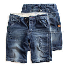 G-STAR RAW TREAL DENIM JEANS LOOSE SHORTS PANTS AGED BLUE  W30 RRP 199$