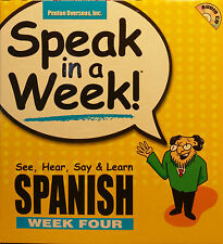 NEW! Speak in a Week : See, Hear, Say, and Learn Spanish Week 4
