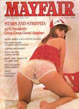 MAYFAIR MAGAZINE volume 12 number 7 mens adult glamour magazine.