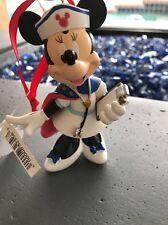 Disney new Authentic Minnie Mouse Nurse Ornament