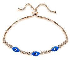 Blue Cubic Zirconia Fine Bracelets