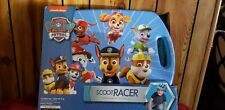 Nickelodeon Paw Patrol Scoot Racer ~ Sit, Kneel, Scoot ~ Zooms & Spins