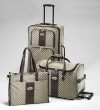 3-tlg. Reisekoffer Set ~ MILANO ~ Koffer Trolley Tasche Reisetasche  ~ NEU