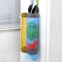Grocery bags holder wall mount storage dispenser plastic kitchen organizer 1Pcs