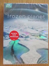3 DVD DISC COLLECTION FROM THE BBC FROZEN PLANET THE COMPLETE COLLECTION NEW