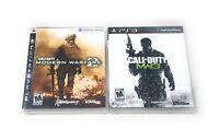 Call of Duty Modern Warfare 2 & 3 Bundle Lot (Sony Playstation 3, PS3) FAST SHIP