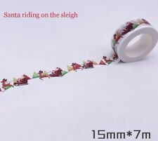 Washi Tape Santa on the Sleigh 15mm x 7m MT141