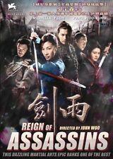 Reign Of Assassins----- Hong Kong RARE Kung Fu Martial Arts Action movie - NEW