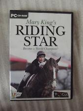 Mary King's RIDING STAR PC DVD Windows CD Rom VGC Focus Multimedia