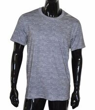 Adidas TechFit ClimaLite Mens SS Fitted Base Layer Shirt LARGE L Gray Heath