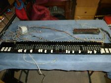 Hammond organ smooth drawbars assembly   1965