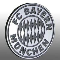 3D AUTO CHROMLOGO CHROM LOGO FC BAYERN MÜNCHEN UVP 9,95 € !!