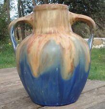 -Large Vase en Grès par G.Méténier
