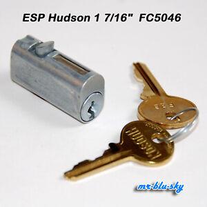 "ESP Hudson 1 7/16"" File Cabinet Lock FC5046  W/ 2 Keys"