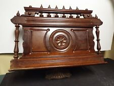 """19th Century Antique Large Victorian Bible Stand - 21"""" x 24"""""""