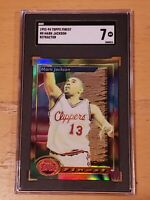 1993-94 Topps Finest Refractor #8 Mark Jackson SGC 7 Newly Graded
