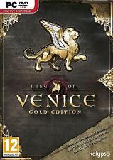 RISE OF VENICE GOLD EDITION   PC   DVD Version   inkl. Key   NEU & OVP   USK18