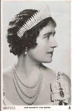 RPPC,U.K.H.M.Queen Elizabeth,Queen Mother,Wife of King George VI,TUCK,c.1936