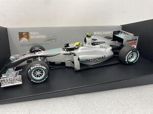 1/18 Minichamps 2010 Mercedes AMG Petronas F1 Nico Rossberg Part # 150100074