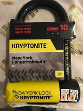 Kryptonite New York Fahgettaboudit Mini D U Bike Bicycle Lock Gold Sold Secure