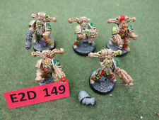 Warhammer 40k Chaos Space Marines - 5 Death Guard Plague Marines (oop metal)