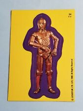 1980 LucasFilm #24 C3PO Sticker - Star Wars - The Empire Strikes Back