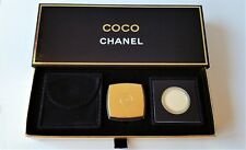 CHANEL COCO Pressed Parfum Compact with Refill & Pouch