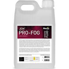 Martin Jem Pro-Fog Fluid High Density 5L Long Lasting Water Based Fog Fluid
