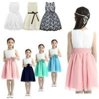 Toddler Flower Girl Dress Party Princess Wedding Birthday Pageant Prom Gown Maxi