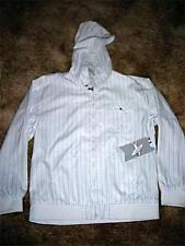 SURPLUS Mens White/Striped Jacket~XLG~Retail $68~NWT