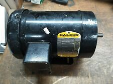 Baldor Electric Motor 1 HP 3 PH 230/460VAC 3450RPM 56C 3PH Made in USA