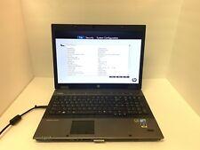 New listing Laptop Hp EliteBook 8740W Intel i7 6Gb Ram Nvidia Quadro No Hdd boot to Bios