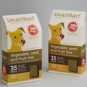 SmartBarf Supplement Raw Dog food Diet Natural minerals vitamins nutrients