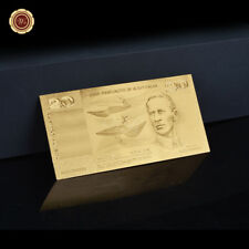 WR 24K $20 Gold Banknote Commonwealth of Australia Coombs Wilson Collected Gifts