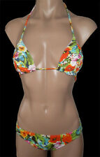 "BRAND NEW + TAG BILLABONG LADIES BIKINI SET PADDED TRI TOP SIZE 8 ""MIX UPS"" BNWT"