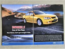 FORD BA FALCON XR6 2003 4.0 Sedan Auto Magazine Page Sales Advertisement Wheels